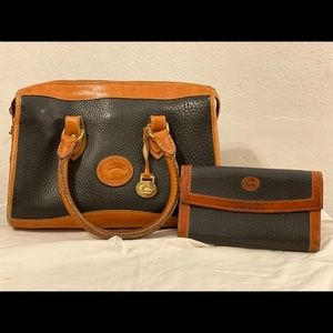 Vintage Dooney & Bourke purse and wallet